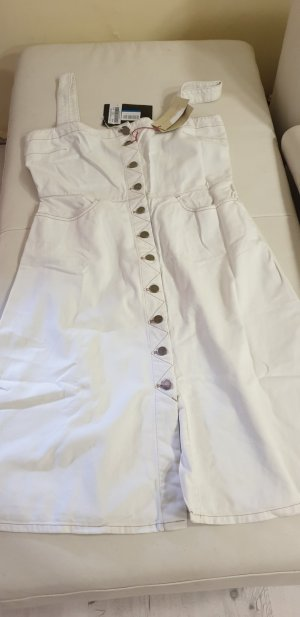 Stella McCartney Denim Dress white-light grey cotton