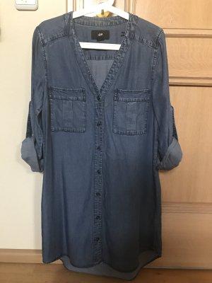 Jeans Kleid / Tunika von H&M Größe 36