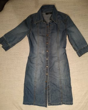 Hennes Collection by H&M Denim Dress blue cotton