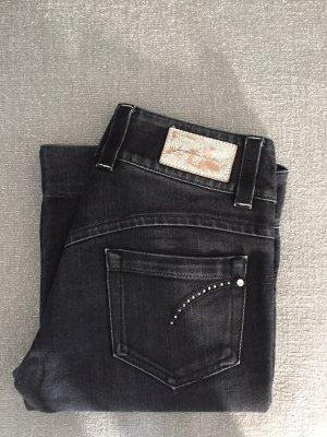 Laltramoda Tube jeans zwart