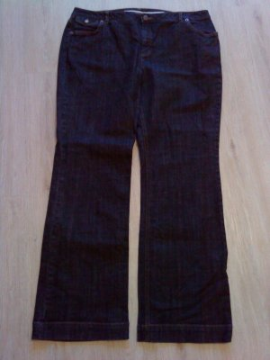 Boot Cut Jeans anthracite-black