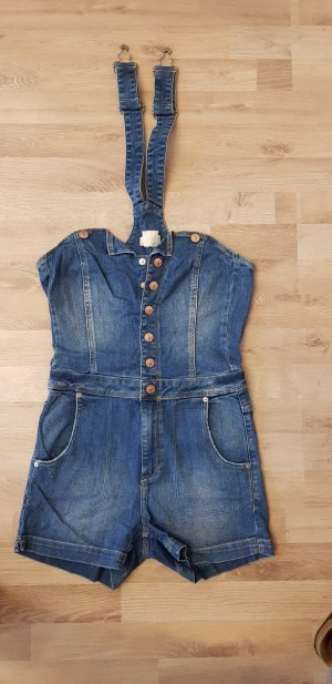 Jeans - Latzhose