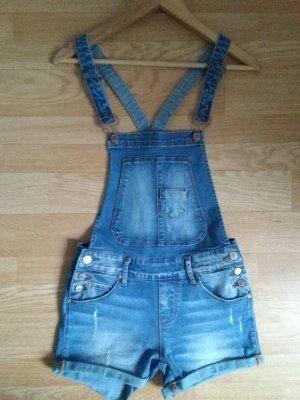 Jeans met bovenstuk korenblauw