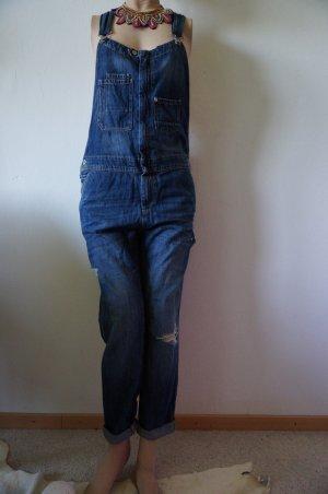 Jeans Latzhose im Uselook