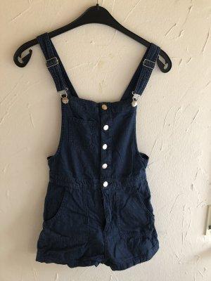 H&M Divided Jeans met bovenstuk blauw