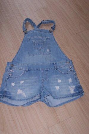 Jeans Latzshorts in Gr. M von FB Sister