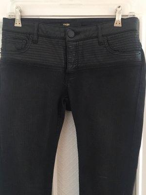 Jeans/Lederhose von Maje