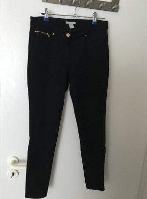 Jeans-Leggings schwarz