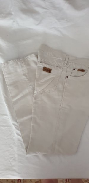 Wrangler Low Rise Jeans oatmeal cotton
