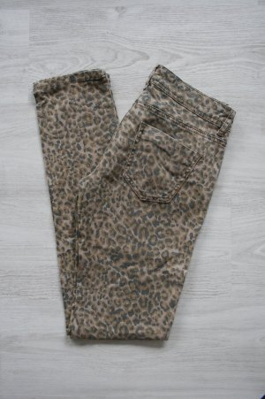 Jeans Leopardenmuster Leomuster Animalprint