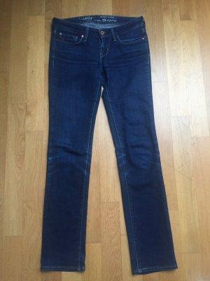 Jeans Levi's Slight curve dunkelblau classic Gr. 25/32 Bootcut