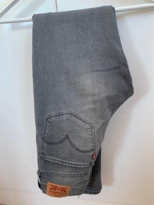 Levi's Jeans cigarette gris clair-gris