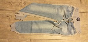 Blind Date Boyfriend Trousers light grey-azure