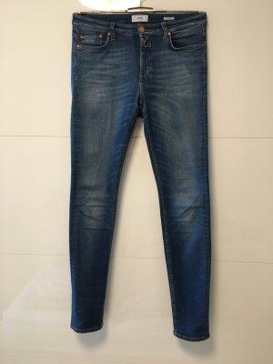 Closed Hoge taille jeans korenblauw-azuur Katoen
