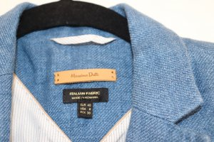 Massimo Dutti Denim Blazer multicolored