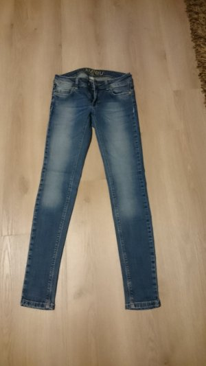 Jeans low waist Amisu Röhrenjeans