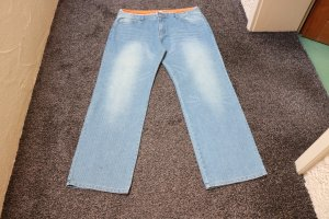 #Jeans m. Pailletten, Gr. 52, #stone, #NEU, #Oviesse young