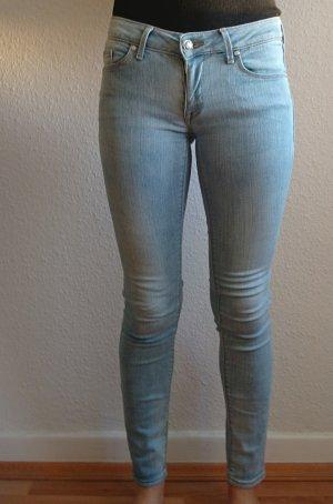 Mango Jeans slim bleu clair