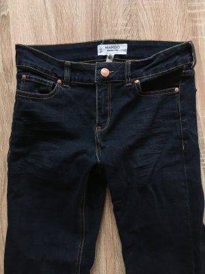 jeans Mango slim dark blue dunkel blau modele alice slim