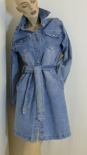 Jeans-Mantel/-Kleid, stretch, Gr. 34/36