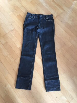 Marc Cain Jeans taille basse multicolore