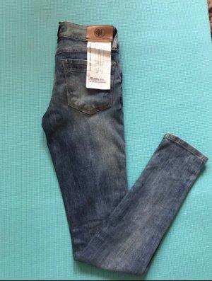 Marc O'Polo Jeans slim bleuet-bleu fluo