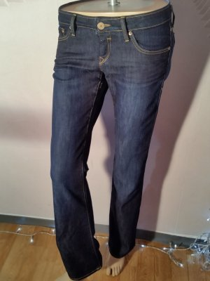 Jeans Mavi Olivia sehr hüftig! Dark blue Gr 28 /32 Neu!