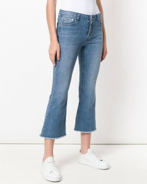 Jeans Michael Kors MS89CNZ4V6 - Schlagjeans blau denim