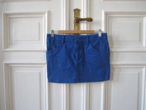 Jeans Mini-Rock blau