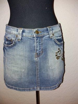 Jeans Mini Rock Gr 38