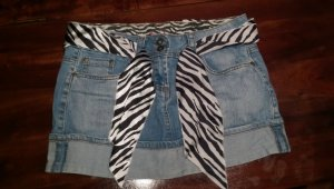 Jeans Mini Rock Größe L