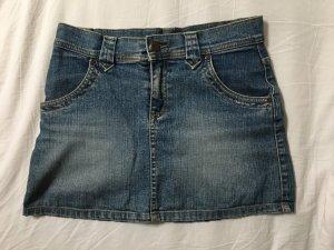 Jeans Mini Rock in Größe 36