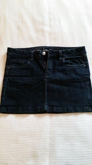 Jeans Mini-Rock von EDC Gr. 36 dunkelgrün