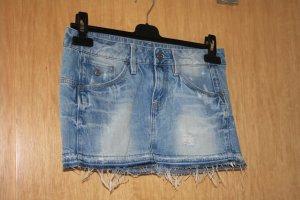 G-Star Mini-jupe bleu fluo coton