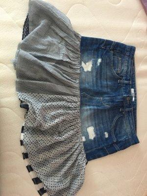 Jeans Mini Rock von Lju Jo Gr.M