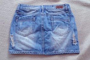 Jeans-Mini-Rock von Miss Anna
