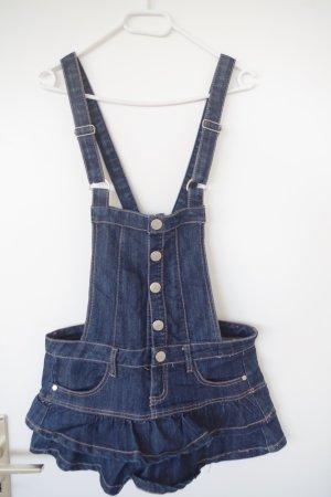 Jeans Minikleid mit Rüschen, Einteiler, von spanischer Marke Blanco