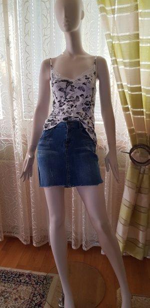 Jeans Minirock