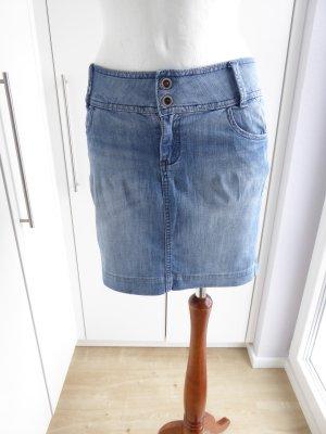 s.Oliver Gonna di jeans azzurro Cotone