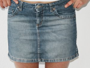 Jeans-Minirock der Marke Extreme Gr. 36