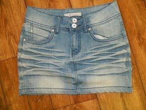 Gonna di jeans azzurro