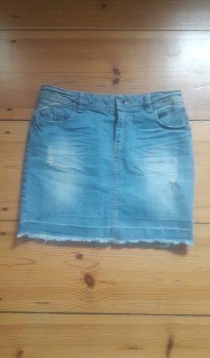 Jeans Minirock, Grösse 34/36