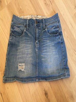 Jeans-Minirock Größe 40