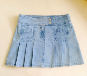 Jeans Minirock Rock blau Gr. M neuwertig!