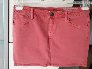edc by Esprit Gonna di jeans salmone-rosa antico
