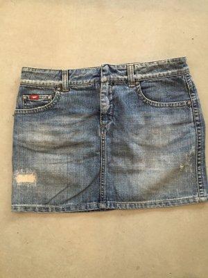 Jeans Minirock von Gas