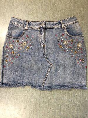 Jeans Minirock von Rainbow