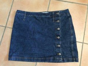 Jeans Minirock von Tommy Hilfiger, seitlich geknöpft, Gr. 44, Top!
