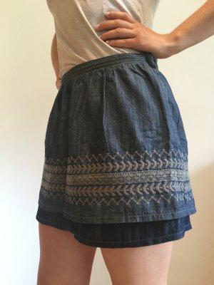 Jeans-Minirock von Warehouse