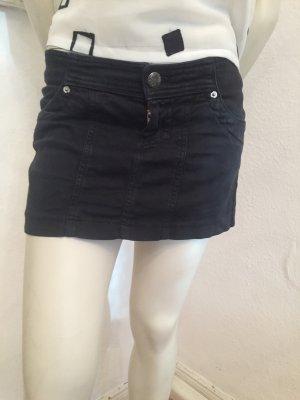 Jeans Minirock Zara schwarz Gr. S schwarz